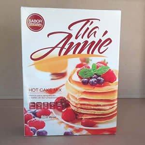 Mezcla para Panqueques Tia Annie Caja 2 libras