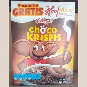 Cereal de Arroz Choco Krispis Caja 620grs