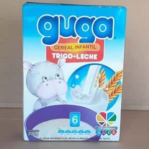 Cereal Infantil Trigo-Leche Guga Caja 200grs