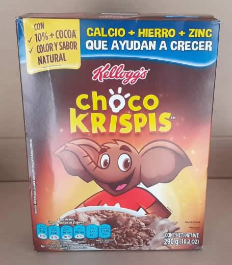 Cerial de Arroz Choco Krispis Caja 290 grs