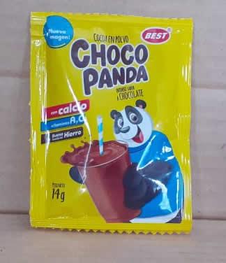 Bebida de Chocolate en Polvo Choco Panda bolsa 14 grs