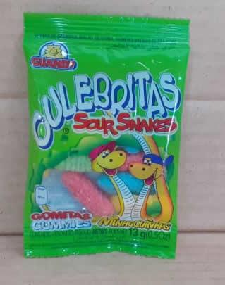 Dulce de Gomita Culebrita Guandy Bolsa 13 grs