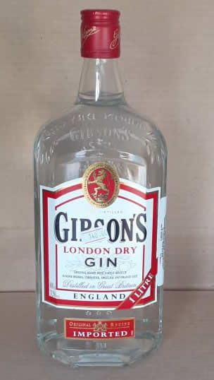 Aguardiente Gibsons GIN 1 litro