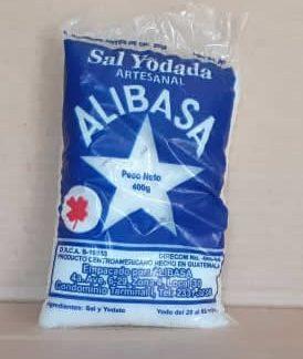 Sal Yodada Artesanal Alibasa Bolsa 400 grs