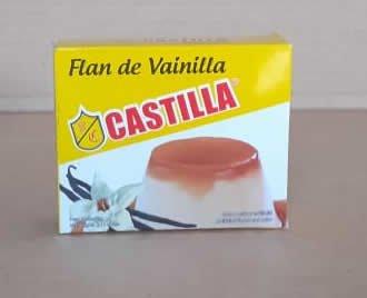 Flan en Polvo de Vainilla Castilla Caja 60 grs