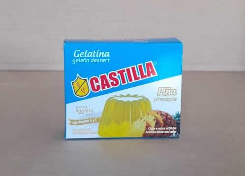 Gelatina Piña Castilla Caja 85 grs