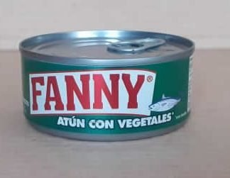 Atun con Vegetales Fanny La Sirena Lata 140 grs