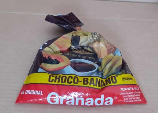 Chocolate Choco-Banano Granada Bolsa 400 grs