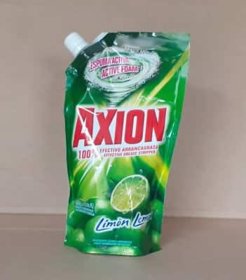AXION Liquido Limón Bolsa 400ml (13.05 onzas)
