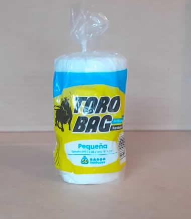 TORO BAG Bolsa pequeña 50 unidades