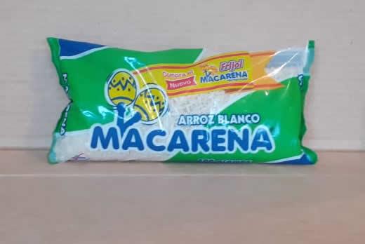 Arroz Blanco Macarena bolsa 400 grs