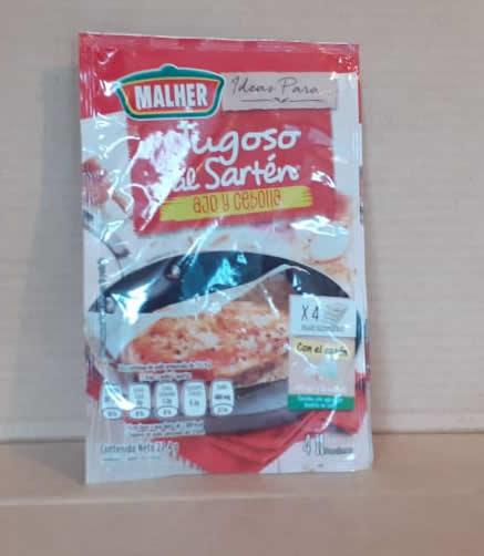 Sazonador Jugoso de Sarten Ajo y cebolla Malher 23.4 g