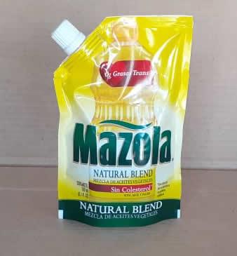 Aceite Vegetal Mazola Doy Pack 180 mL