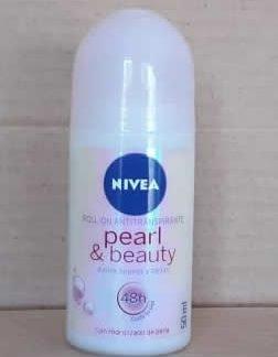 Antitranspirante Nivea Pearl & Beauty Rollon 50 mL