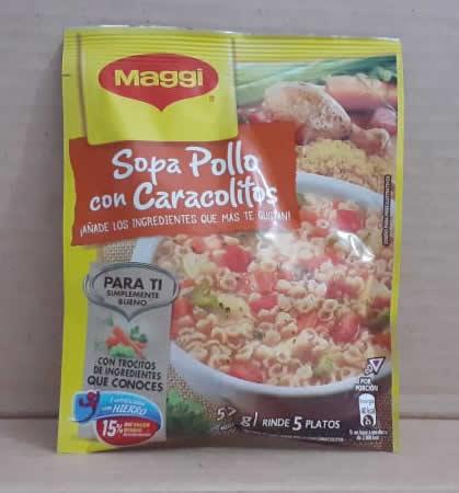 Sopa pollo con caracolitos Maggi 57g