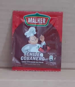 Chile Cobanero Especies Malher 2.5g