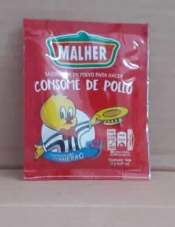Consome de pollo Malher 12g