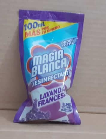 Magia Blanca desinfectante Lavanda Francesa 100mL