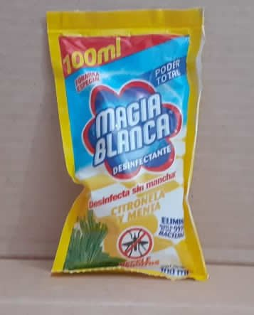 Magia Blanca desinfectante Citronela y menta 100ml