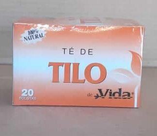 Te de Tilo de Vida Caja 20 Bolsita