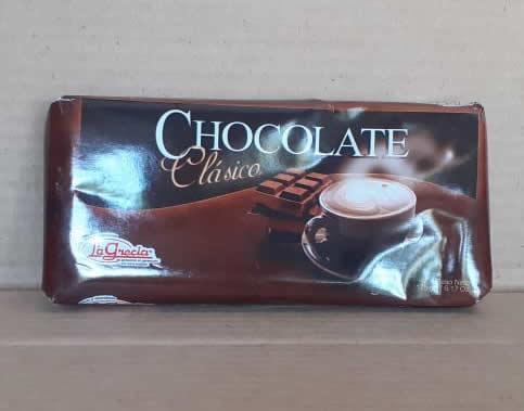 Chocolate Leche La Grecia Tableta 175 grs