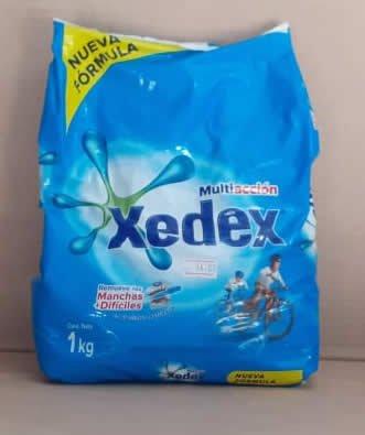 Detergente en Polvo Multiaccion Xedex Bolsa 1 kg