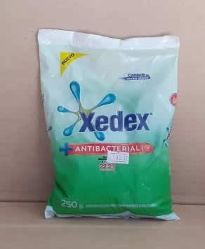 Detergente en polvo Multiaccion Xedex Bolsa 125 g