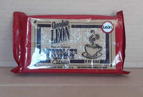 Chocolate Clasico Leon Tableta 190 grs