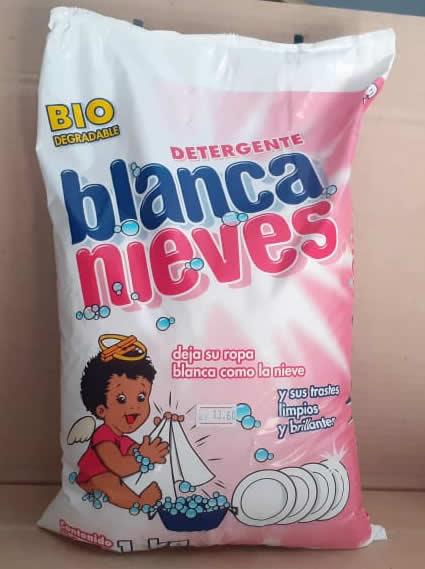 Detergente en Polvo Blanca Bolsa 1 kg