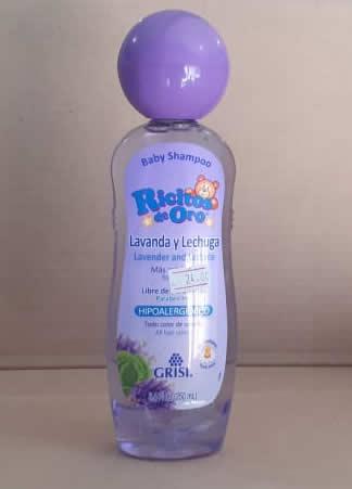 Shampoo babt Ricitos de Oro 250 ml Lavanda y lechuga