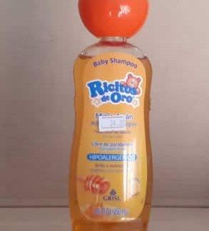 Shampoo baby Ricitos de Oro 250 ml Miel y Argan
