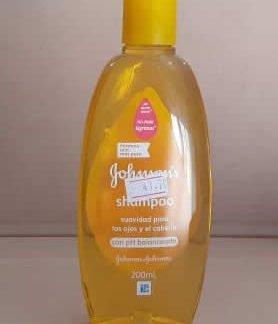 Shampoo baby Johnsons 200 ml con ph balanceado
