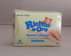 Jabón de tocador Ricitos de Oro Avena coloidal 90 g