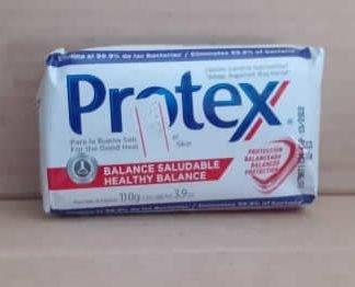 Jabon Antibacterial Balance Saludable Protex 110 grs