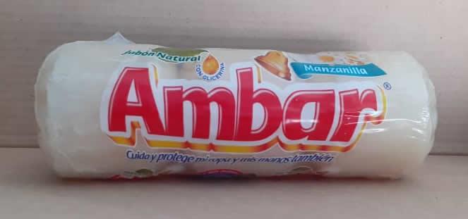 Jabón Ambar Manzanilla 3 bolas