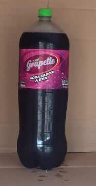 Gaseosa Grapette Uva Botella 3 litros