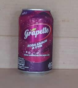 Gaseosa Grapette Uva Lata 355 ml