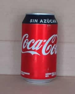 COCA COLA SIN AZUCAR 354 ML