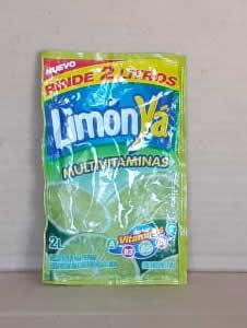 Refresco en Polvo de Limon Jugos Ya 20g