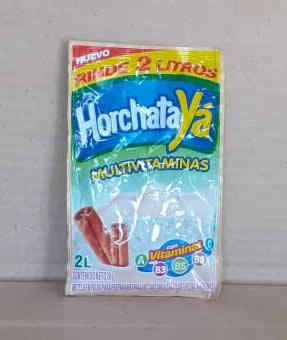Refresco en Polvo Horchata Jugos Ya 20g
