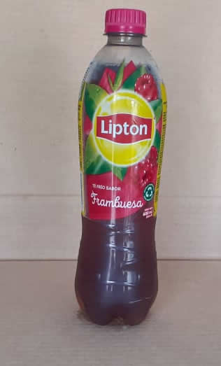 Te Frio Frambruesa Lipton Botella 600 mL