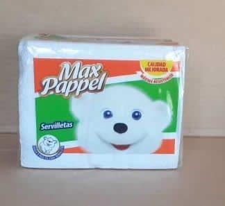 Servilletas de Papel Max Pappel Pack 100 hoja