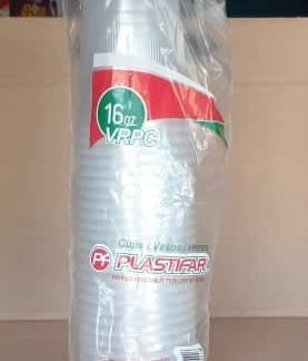 Vaso de Duroport 16oz Plastifar Pack 25 unidades