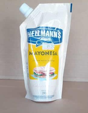 Mayonesa Hellmanns Doy Pack 400grs