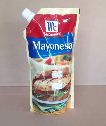 Mayonesa McCormick Doy Pack 400 grs