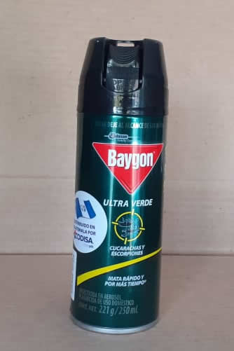 Insecticida Baygon Ultra Verde 250 ml
