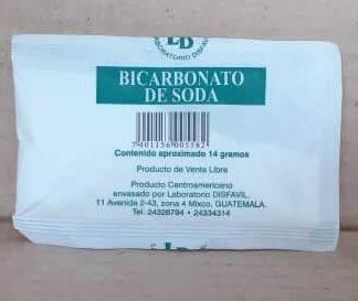 Bicarbonato de Soda 14 gms