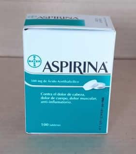 Aspirina 500 mg