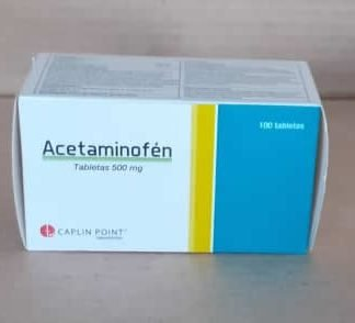 Acetaminofén tabletas de 500mg