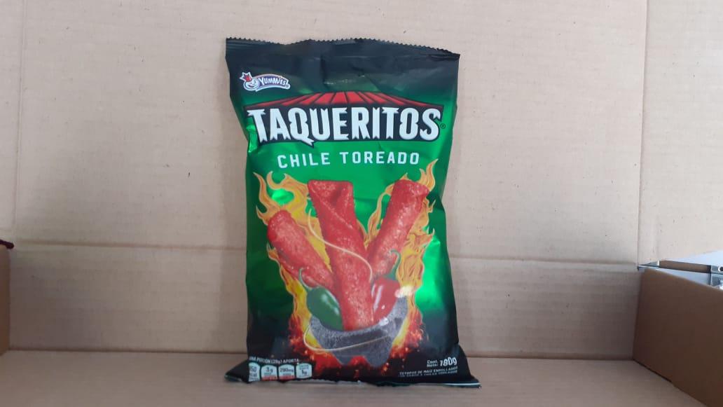 Taqueritos chile toreado Yummies 180g